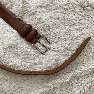 Nordstrom brown leather belt